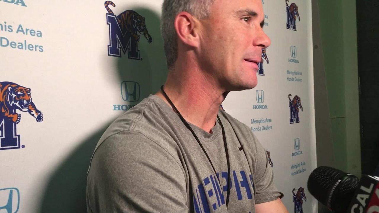 Memphis coach Mike Norvell on offensive coordinator Kenny Dillingham leaving for Auburn and D-coordinator Chris Ball heading to Northern Arizona
