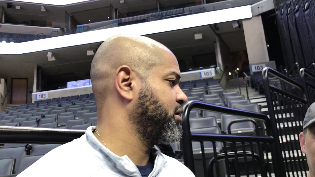 Grizzlies coach J.B. Bickerstaff talks about Dwyane Wade's impact on basketball before the Heat's visit to Memphis on Dec. 14.