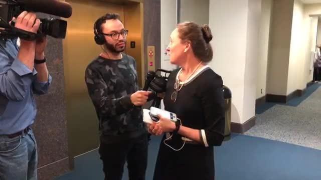 Democrat News Director Jennifer Portman reacts to the verdict of the Denise Williams murder trial.