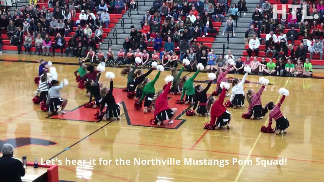Host Northville lets late lead slip away as Verma's trey lifts Mustangs to victory in hard-fought KLAA boys basketball tilt