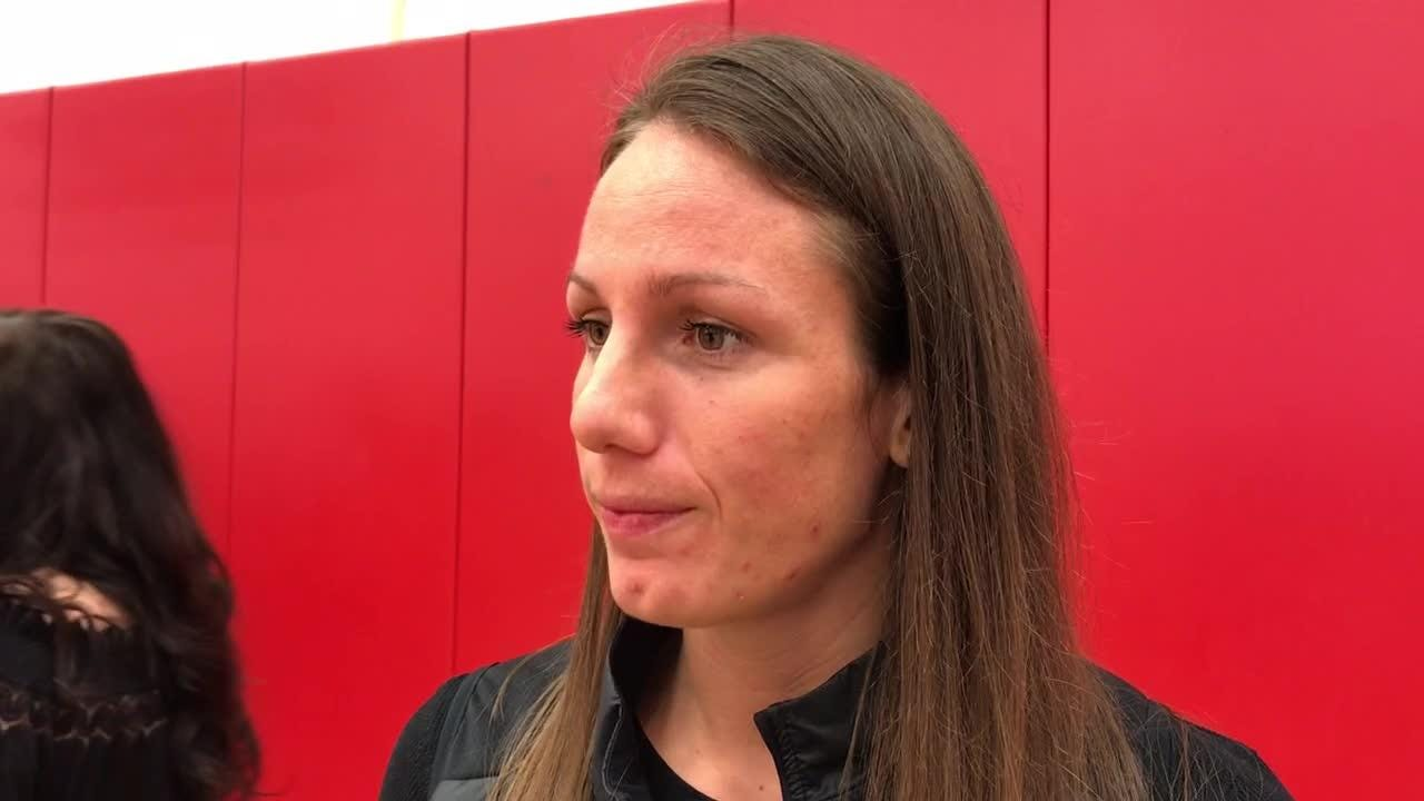 Former Louisville women's basketball standout Becky Burke reflects on the Final Four season and talks about the current team.