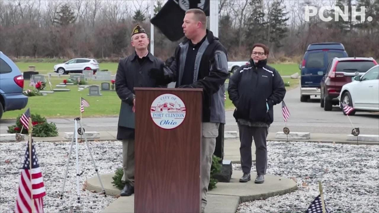 Ottawa County celebrated Wreaths Across America Day, honoring every deceased local military veteran by placing a wreath at their respective graves.
