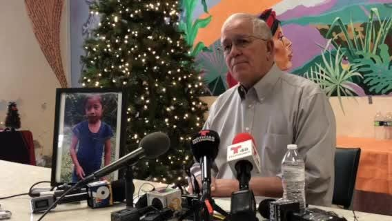 Ruben Garcia of Annunciation House press briefing on the death of an immigrant child
