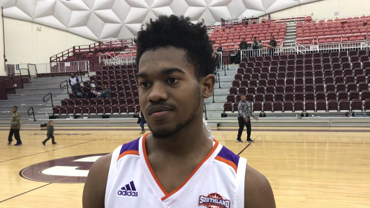 Northwestern State guard C.J. Jones talks about Southern