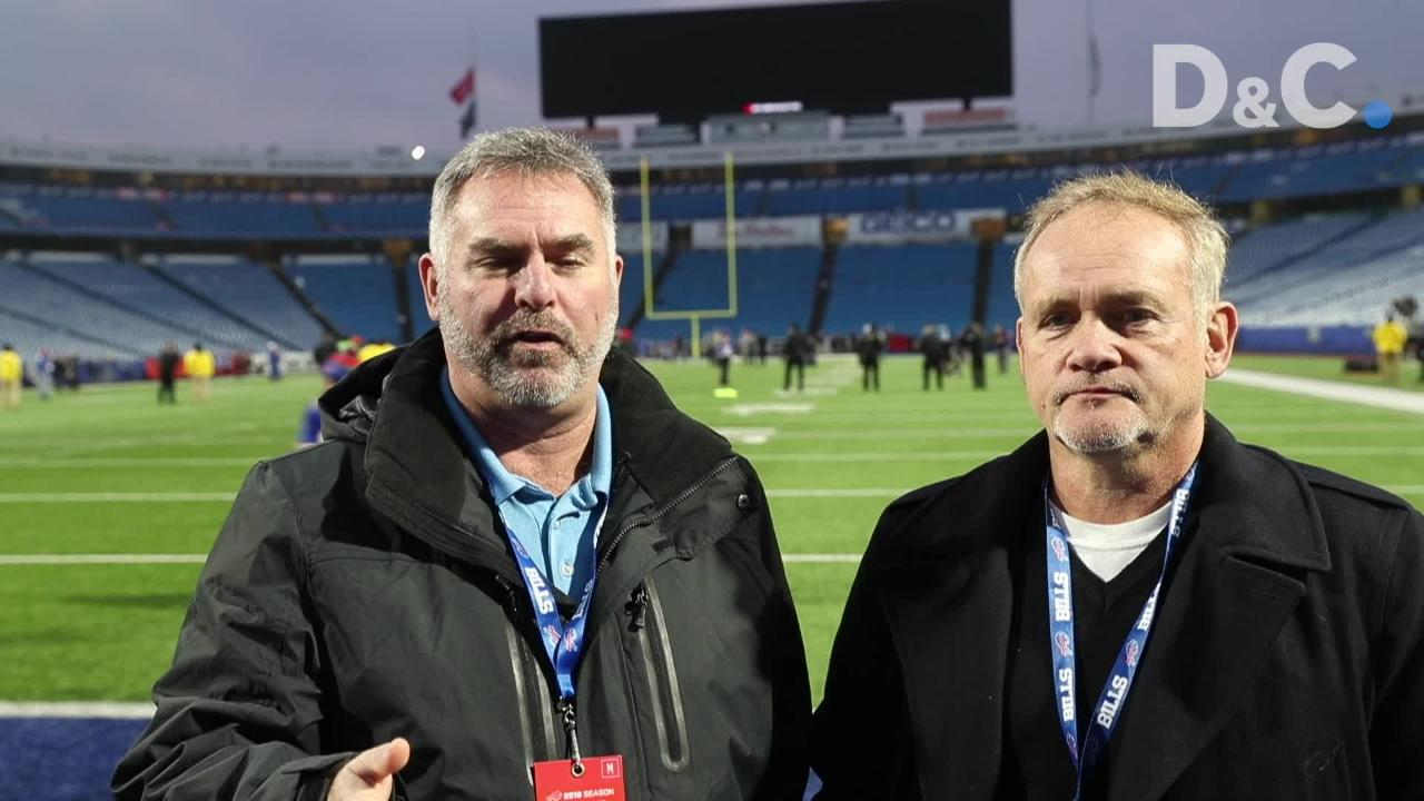 Sal Maiorana and Leo Roth talk about the Bills win over the Lions.