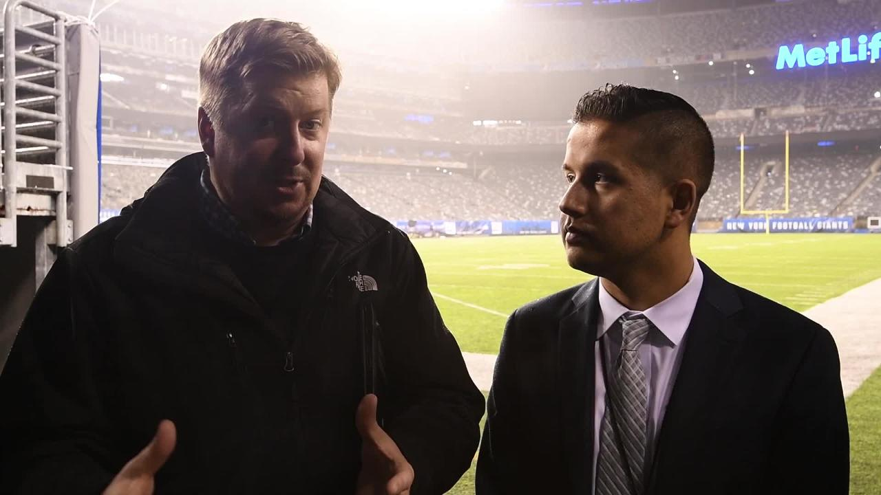 The Tennessean's Joe Rexrode and Erik Bacharach breakdown the Titans' 17-0 win over the Giants at MetLife Stadium.