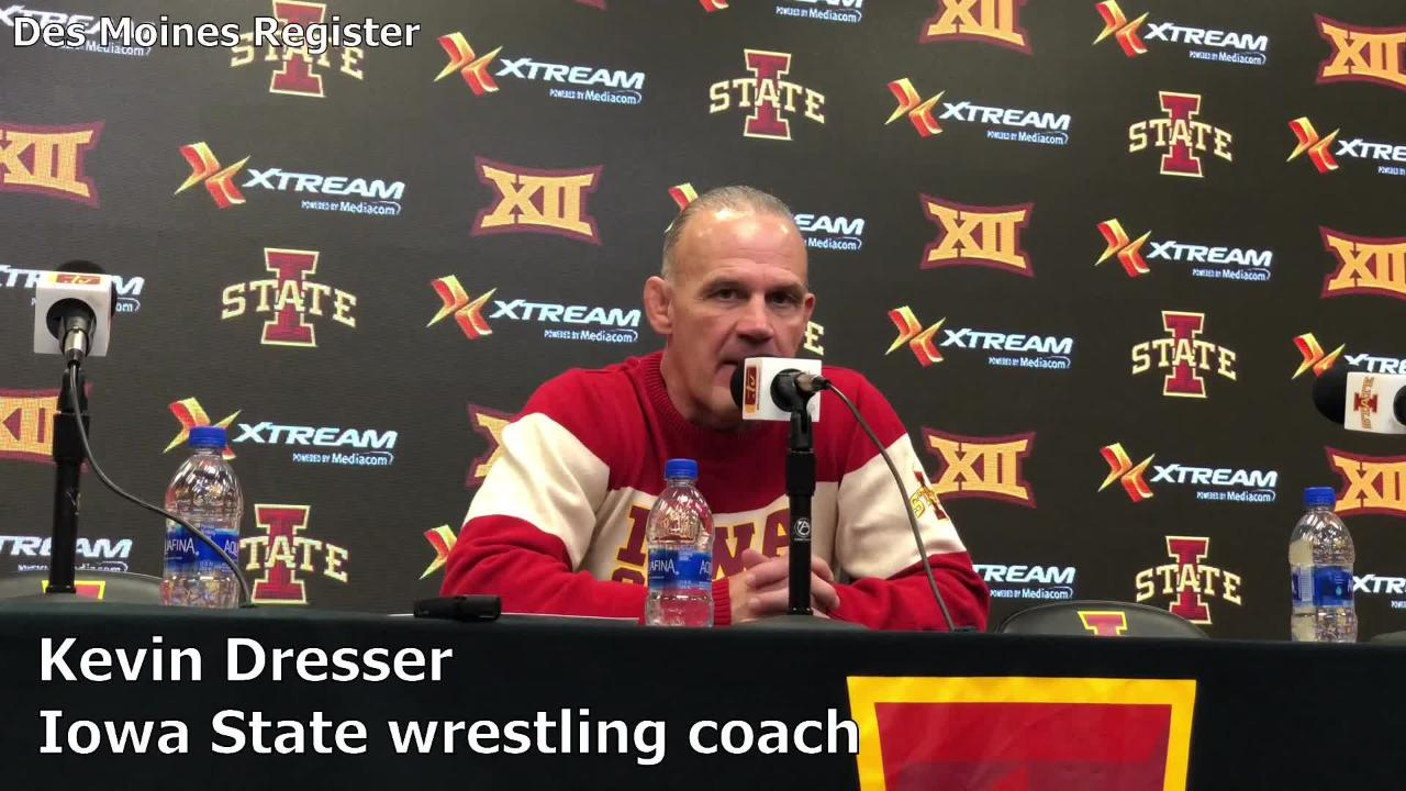 Iowa State coach Kevin Dresser assesses his team's 33-6 win over Ohio on Sunday in Ames.
