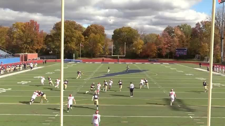 Clyde graduate Austin Baker established a Division III record with a 95-yard punt.