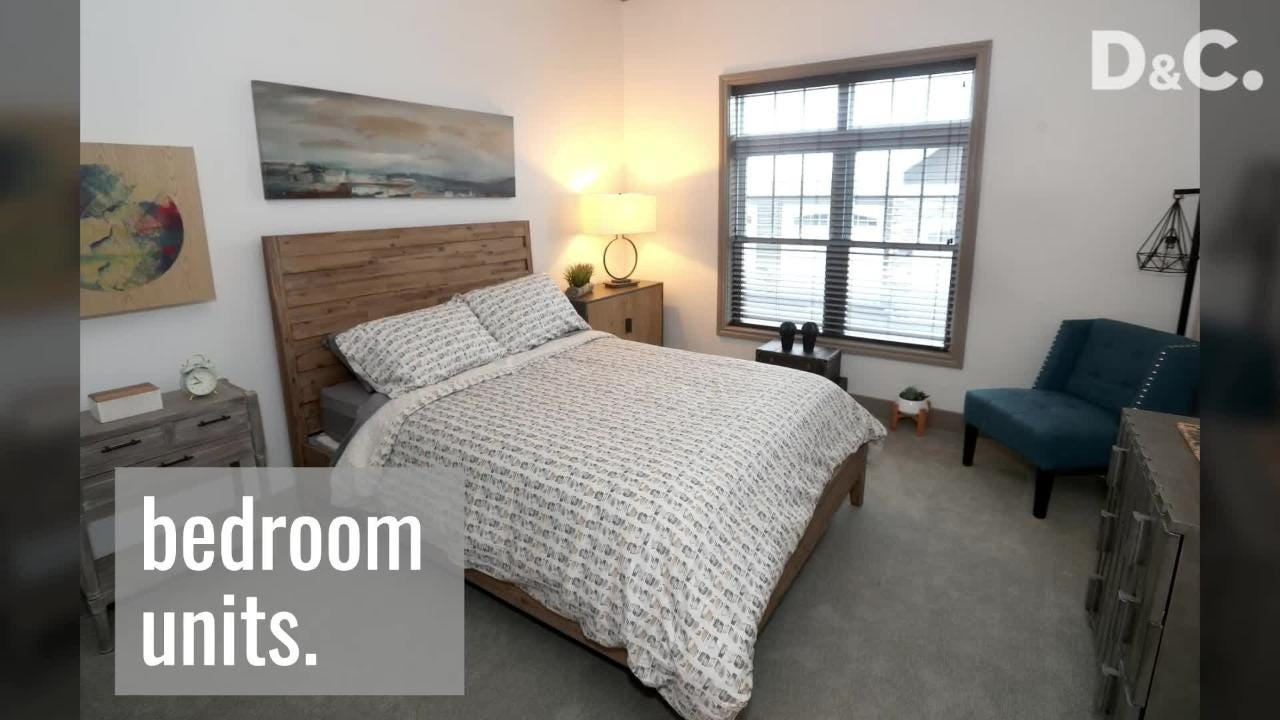 A look inside Waters Edge luxury apartments along Irondequoit Bay in Penfield.