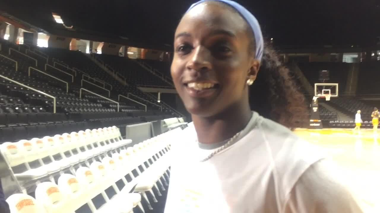 Tennessee's Meme Jackson has a greater appreciation for her scoring skills after a career-high 33-point performance.