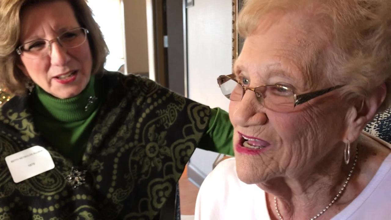 Charlene Reynolds tells of trying on nun's habit