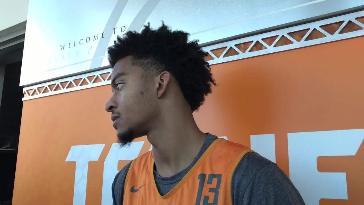 Jalen Johnson: Vols pushing each other hard in...