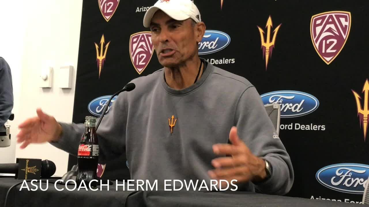 Arizona State went 7-6 under coach Herm Edwards, including a trip to the Las Vegas Bowl.