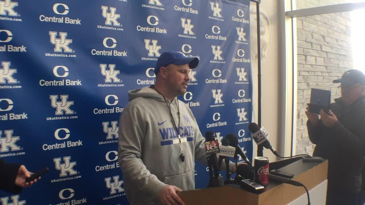 UK defensive coordinator Matt House is eager to see the young linebackers who will replace Jordan Jones in the Citrus Bowl.