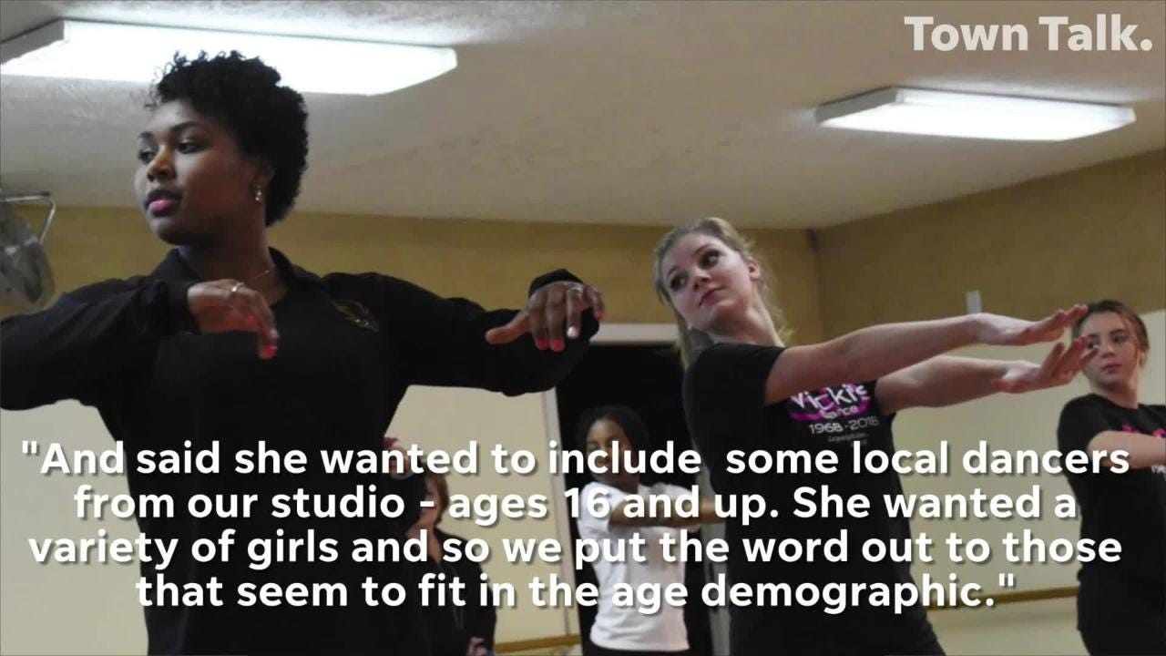 Vicki's Dance Studio gets a call from agent for Christian rap artist TobyMac looking for local dancers to dance backup at his concert Jan. 29, 2019