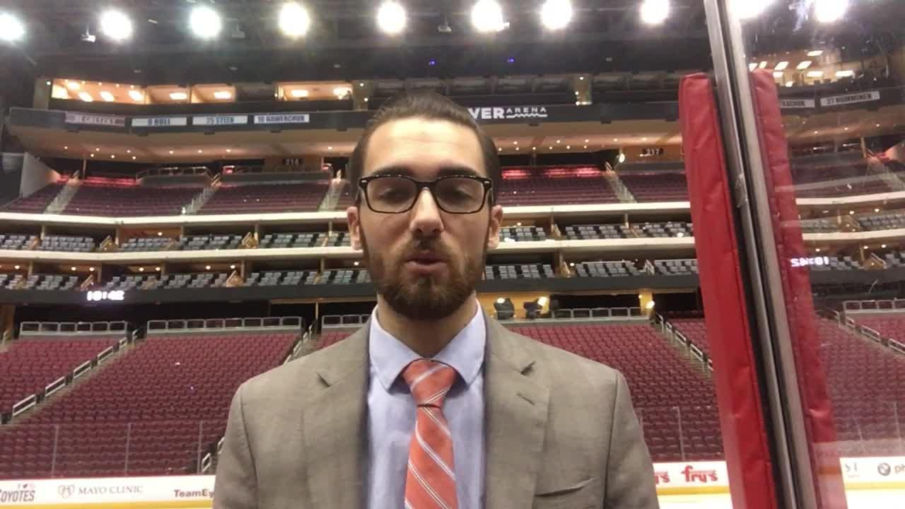 Coyotes insider Richard Morin breaks down Arizona's loss to the Islanders on Tuesday.