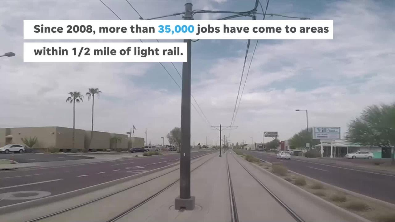 Light Rail Has Changed Phoenix Tempe And Mesa
