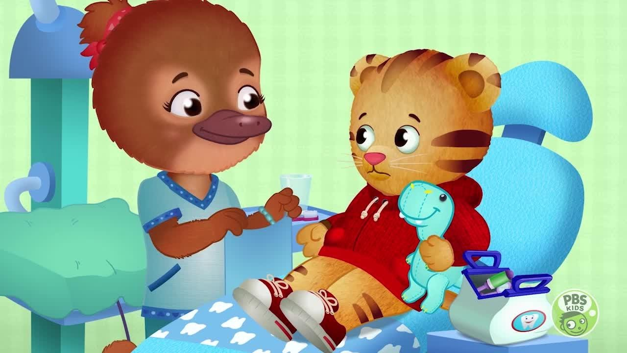 EXCLUSIVE CLIP: Daniel Tiger visits the dentist