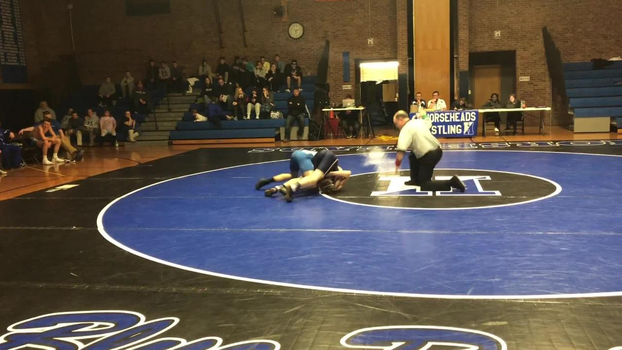 Horseheads was a 64-16 winner over Binghamton in wrestling Dec. 19, 2018 at Horseheads High School.