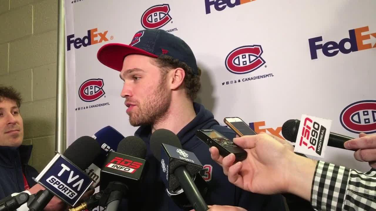 Max Domi discusses return to Arizona for first time since trade to Canadiens