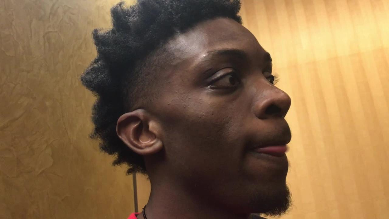 Iowa junior forward Tyler Cook calls freshman Joe Wieskamp 'a goofy dude.' But he loves the way Wieskamp can play. Hear more: