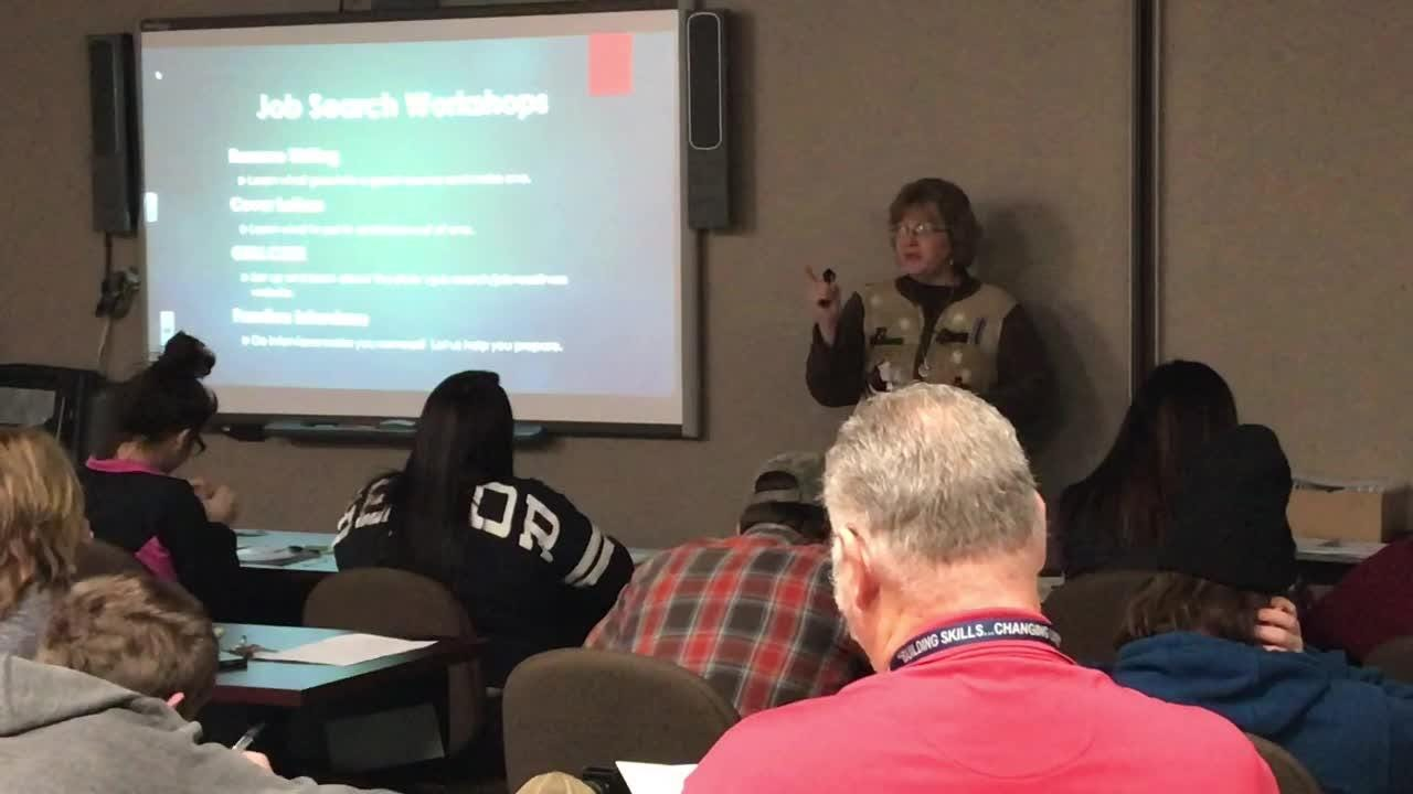 Lisa Scott, career consultant with Ohio Means Jobs of Coshocton County, discusses the importance of interviews to getting a job.