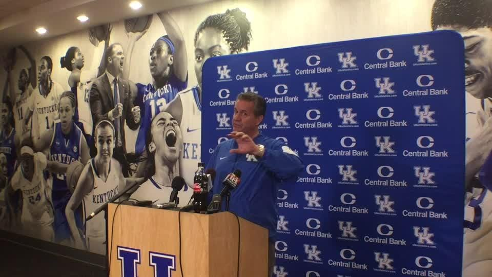 UK coach John Calipari previews North Carolina.