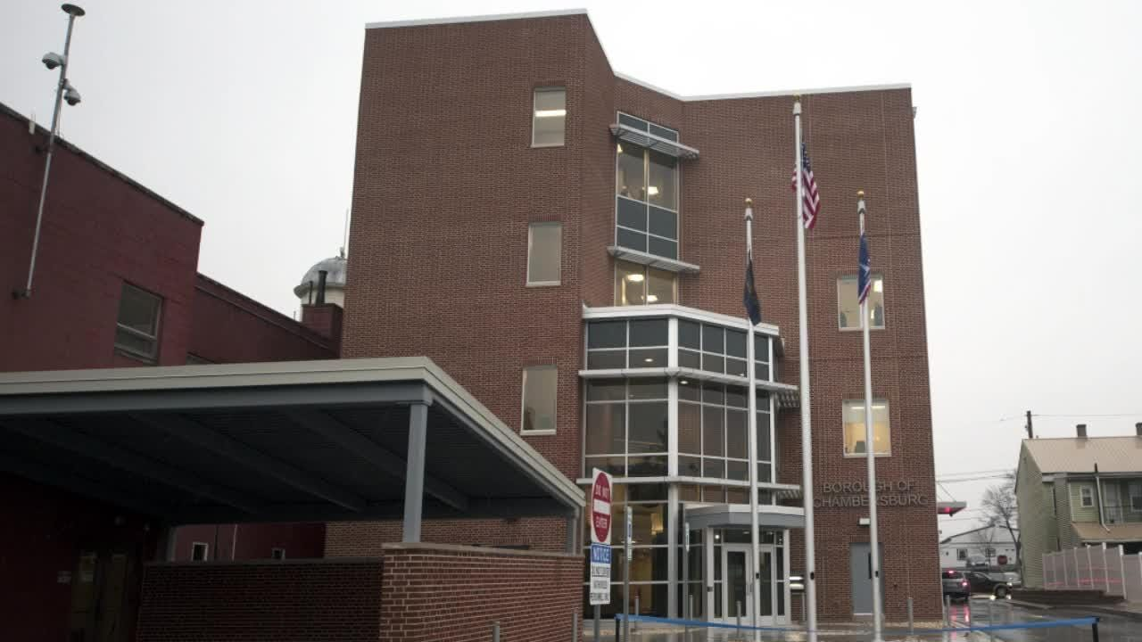 Chambersburg Boro Hall held a dedication ceremony and ribbon-cutting for the new addition.