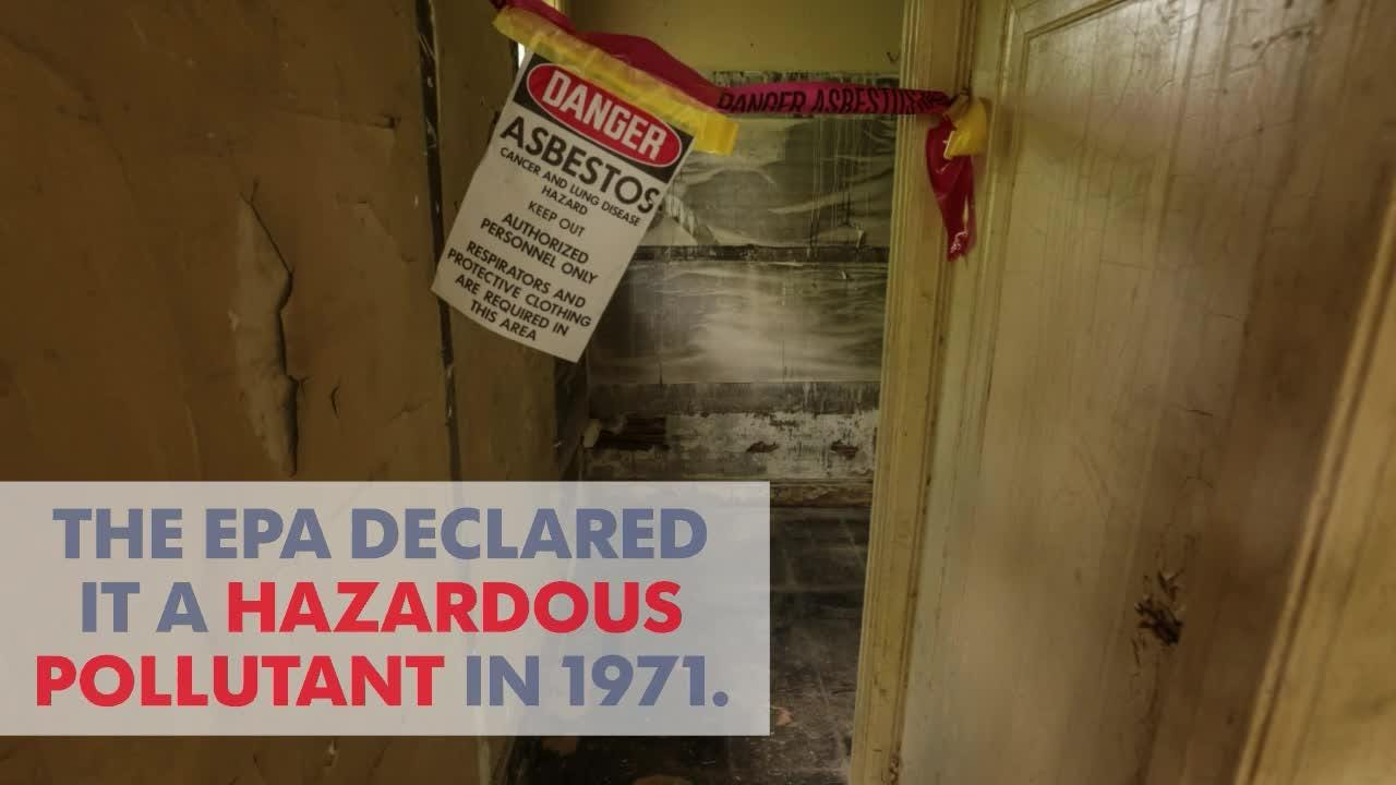 Eco-tip: The trouble with asbestos in your home