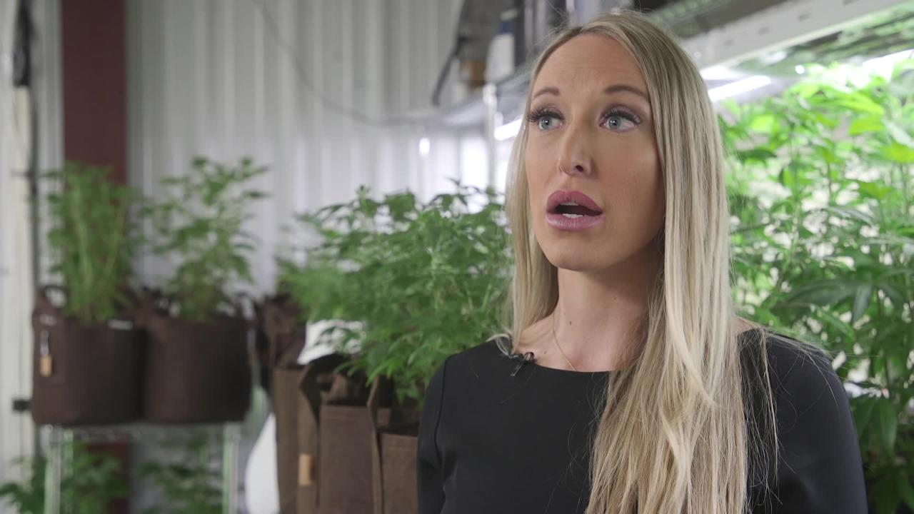 Item 9 Labs CEO Sara Gullickson talks about her cannabis company's expansion and growth in the industry.