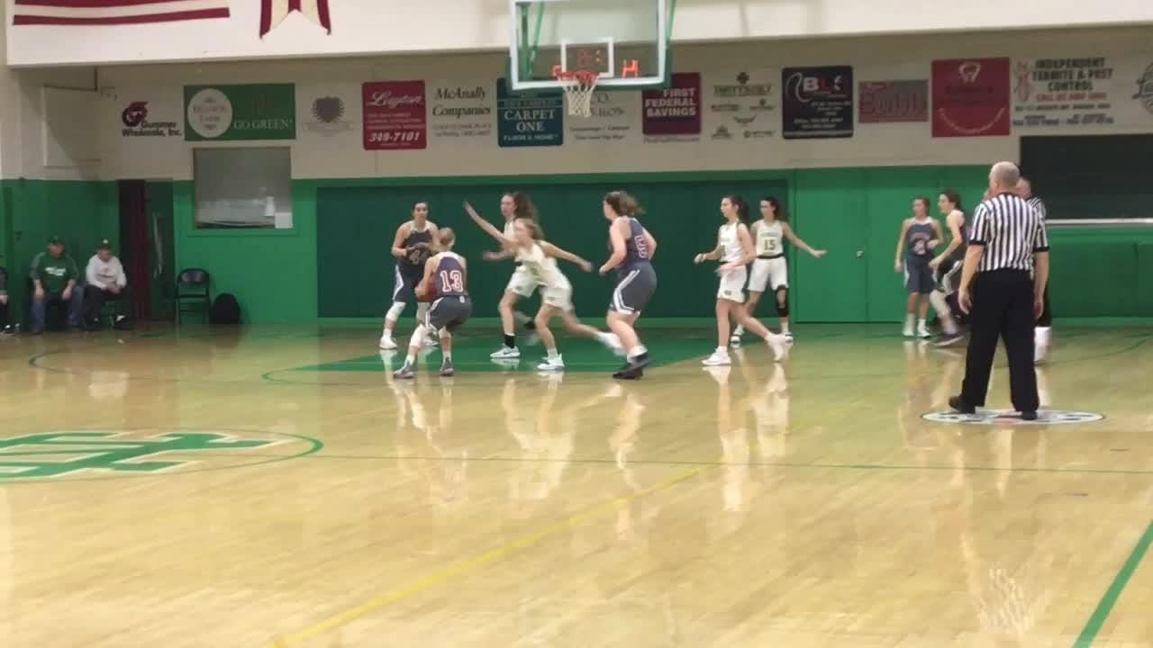 Newark Catholic held Johnstown to 11 first-half points in a 49-26 victory.