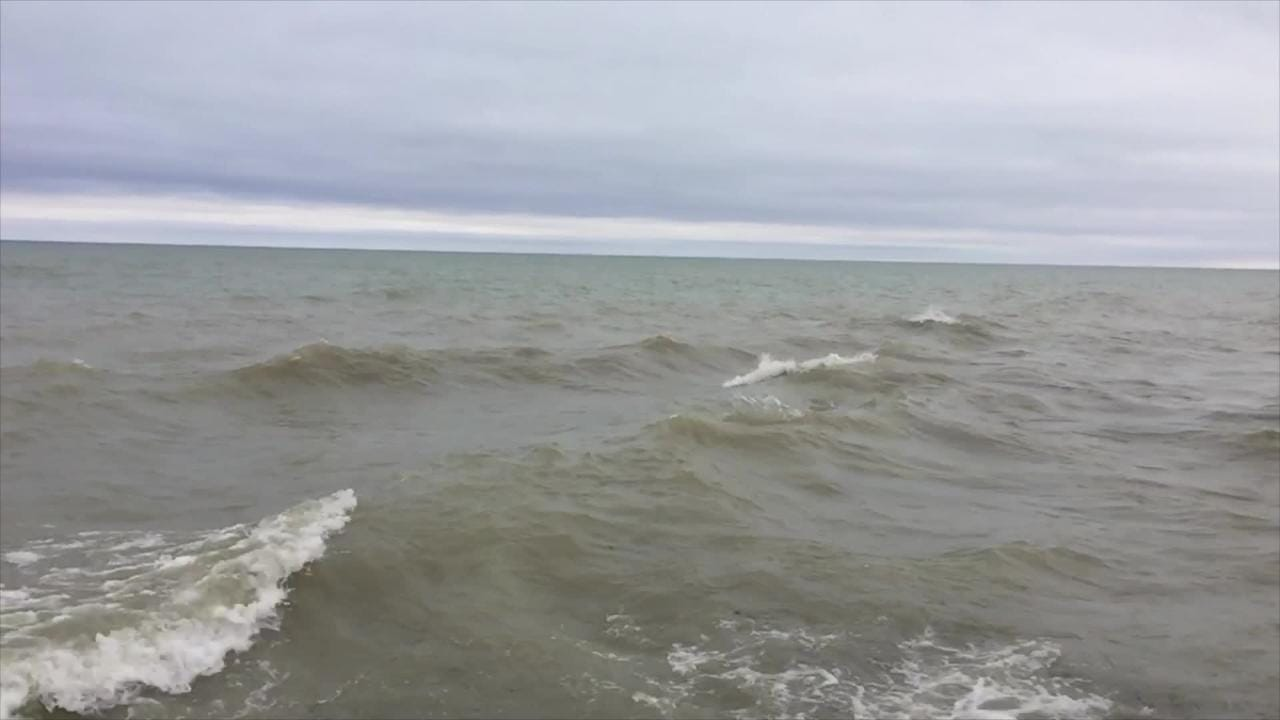 Slow motion reveals the power and majesty of Lake Huron