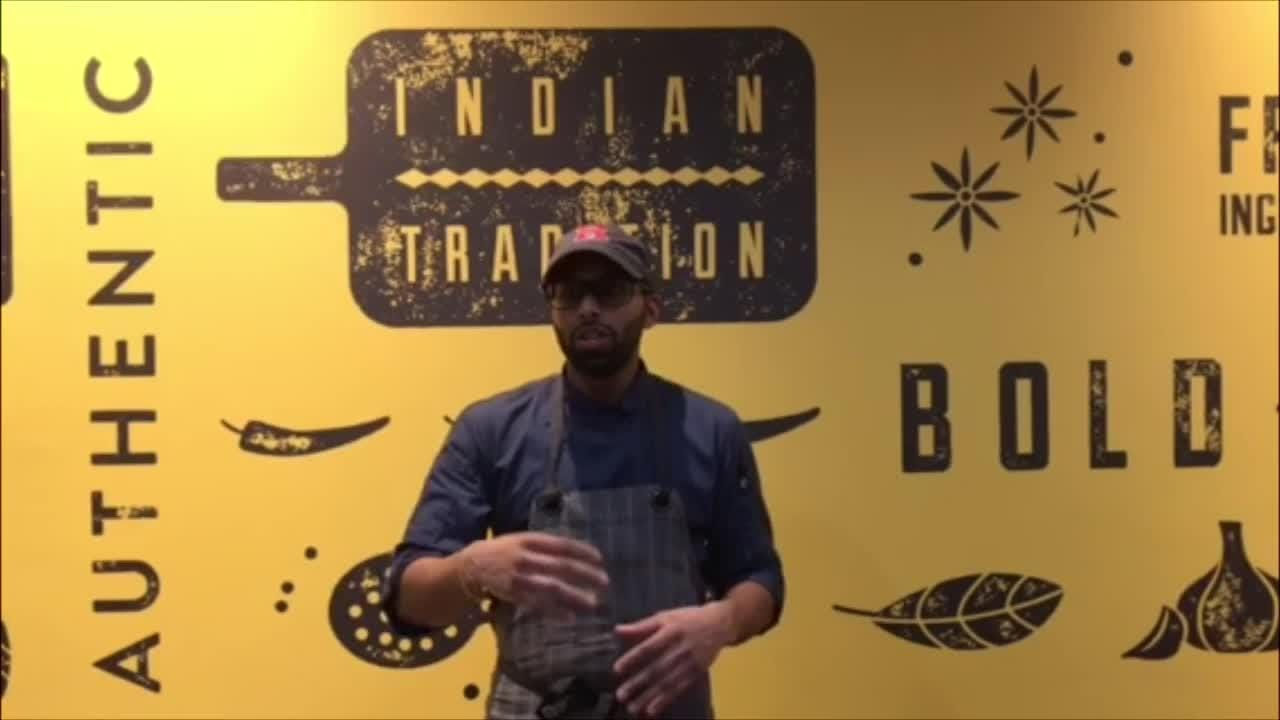 Director of Operations Jerome Mangroo explains what makes Mollaga Indian Grill different from other Indian restaurants.
