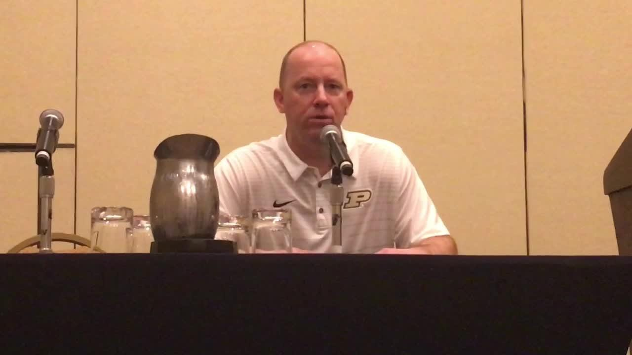 Music City Bowl news conference with Purdue coach Jeff Brohm and Auburn's Gus Malzahn