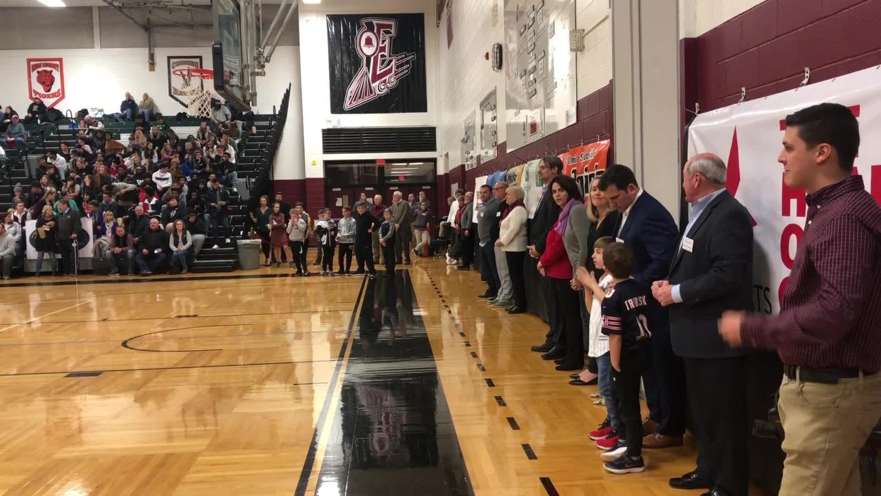 The Chemung County Sports Hall of Fame inducted its class of 2018 on Dec. 27, 2018 at the Josh Palmer tournament at Elmira High School.
