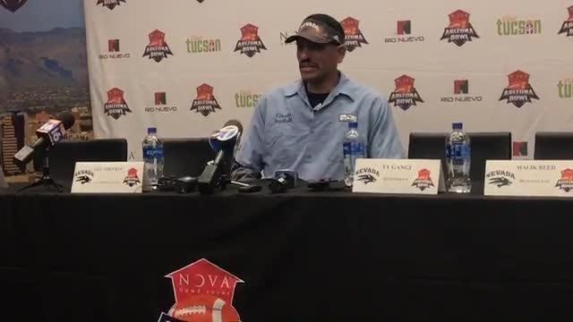 Nevada coach Jay Norvell discusses the 2018 season and Saturday's Arizona Bowl versus Arkansas State.