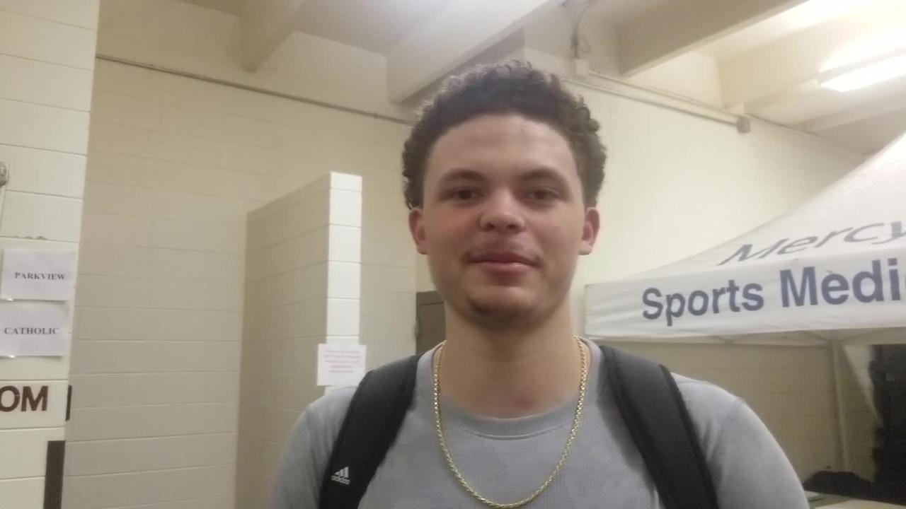 Parkview big man Latre Morrison answers 20 questions after leading the Vikings to the Blue Division championship game.