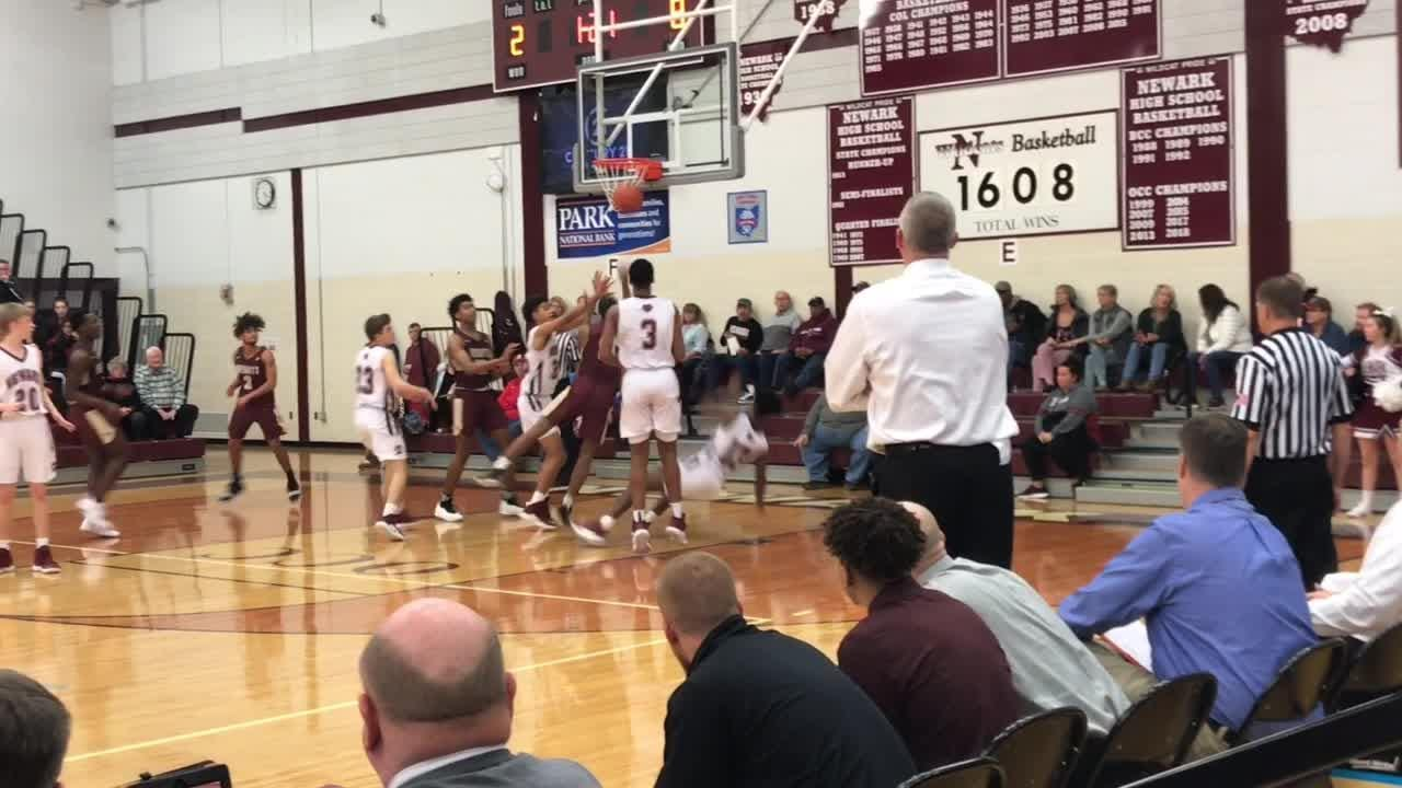 A 23-0 run to end the first quarter set Newark on its way in a 76-41 victory against Licking Heights in the final game of Newark's holiday event.