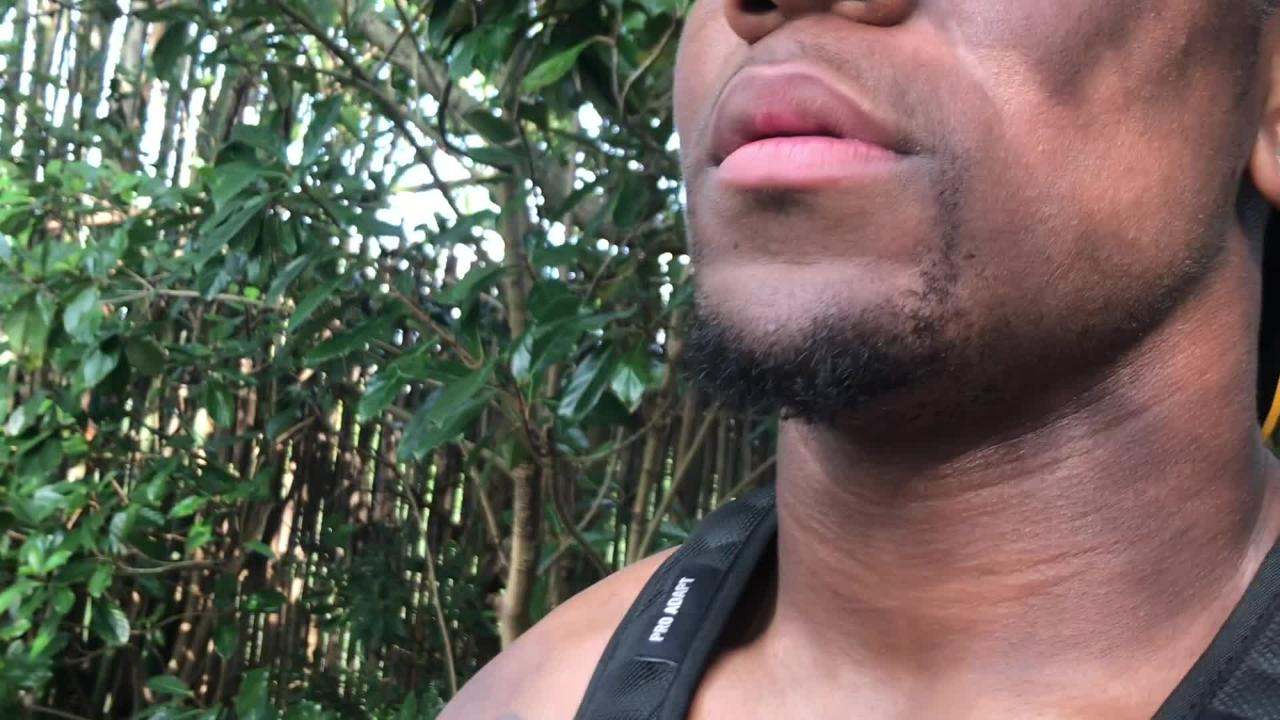 Iowa defensive end Chauncey Golston explains what his favorite animal is and why. He also talk about a newfound appreciation of giraffes.