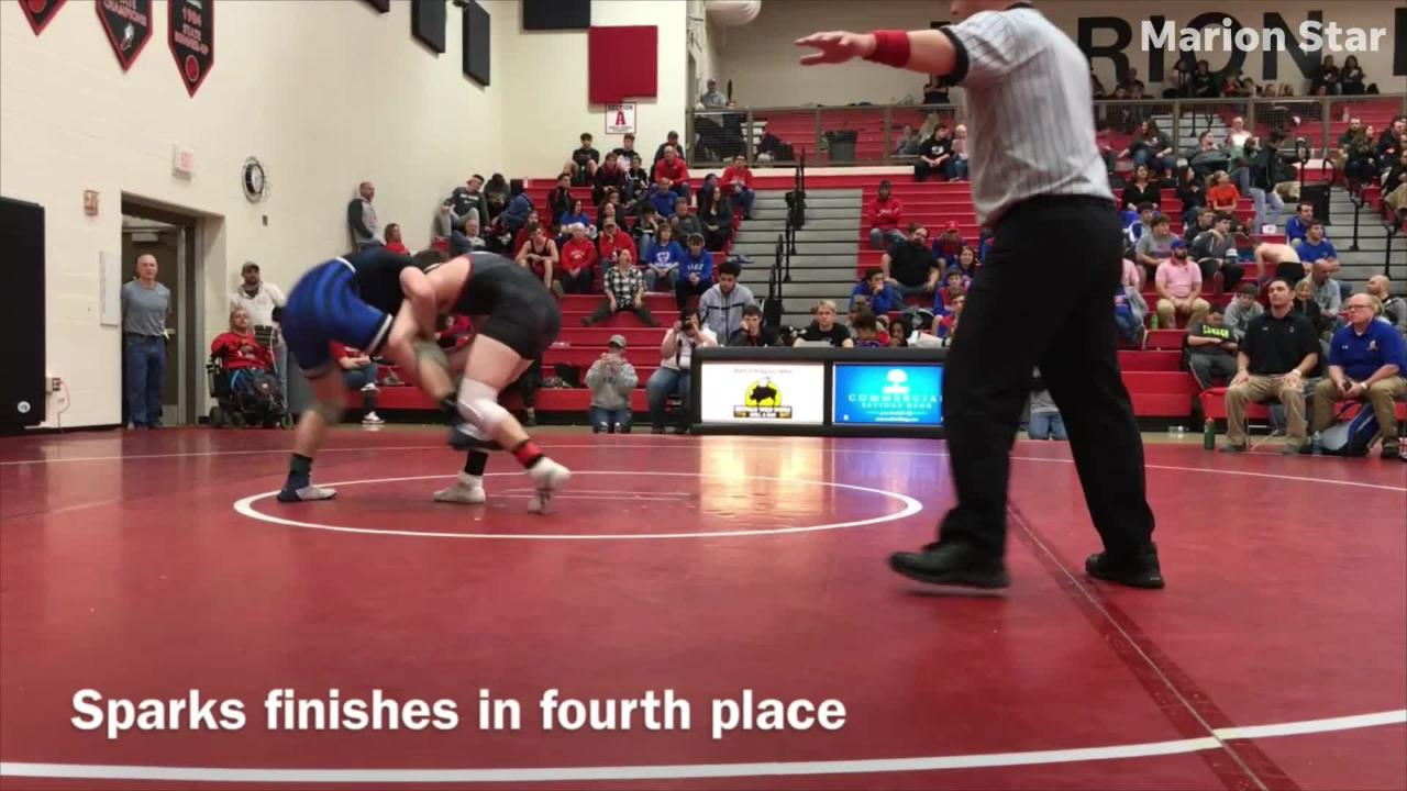 Watch area wrestlers compete at the 48th annual Marion Harding Wrestling Classic.
