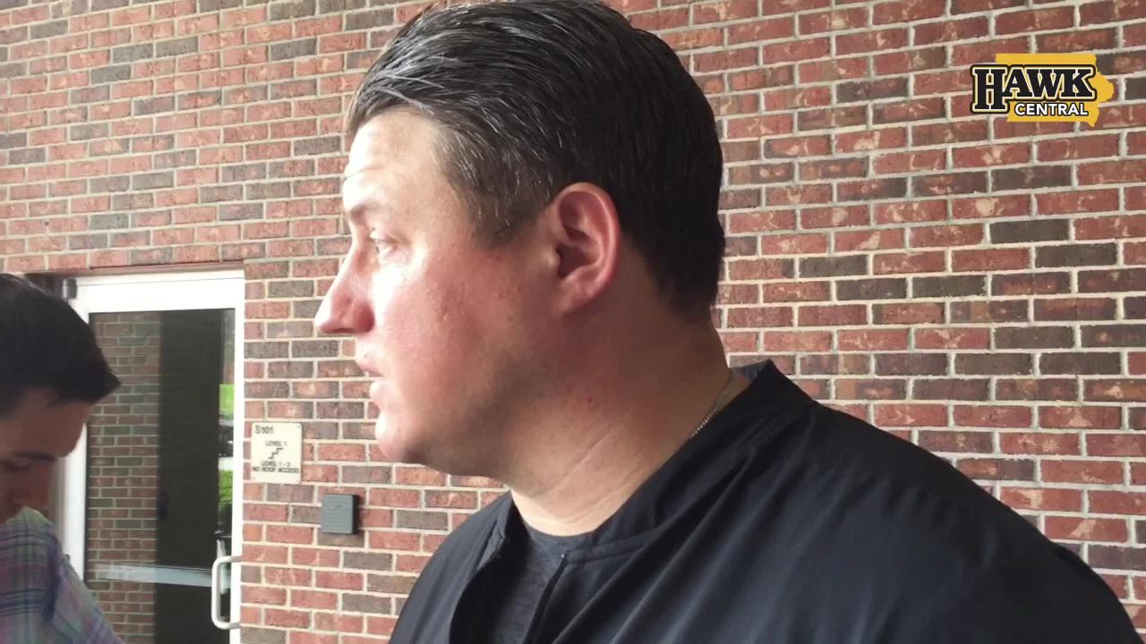 Iowa offensive coordinator Brian Ferentz discusses different personnel groups the Hawkeyes might use against Mississippi State.