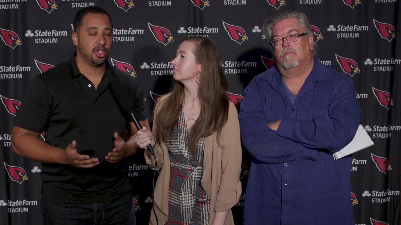 Cardinals insiders on the firing of Cardinals head coach Steve Wilks and the direction moving forward.