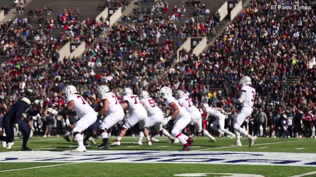 Highlights: Stanford takes on Pitt at Sun Bowl Stadium in El Paso