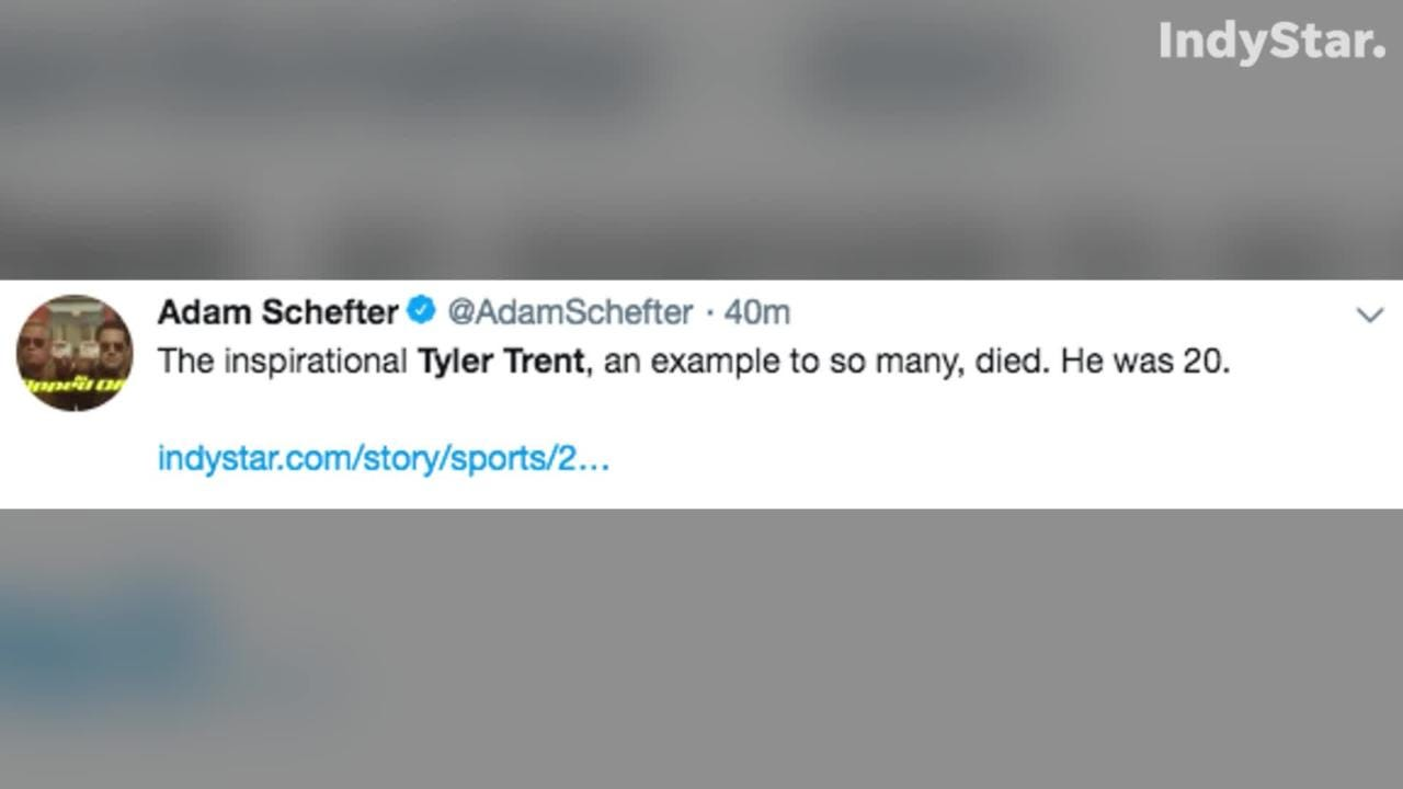 Nation reacts to Tyler Trent\'s death