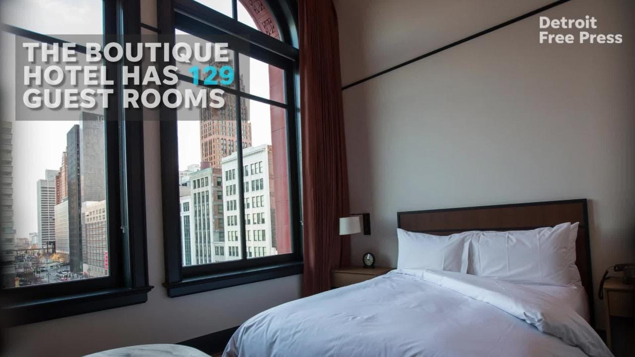 Detroit's Shinola Hotel makes Conde Nast world hot list