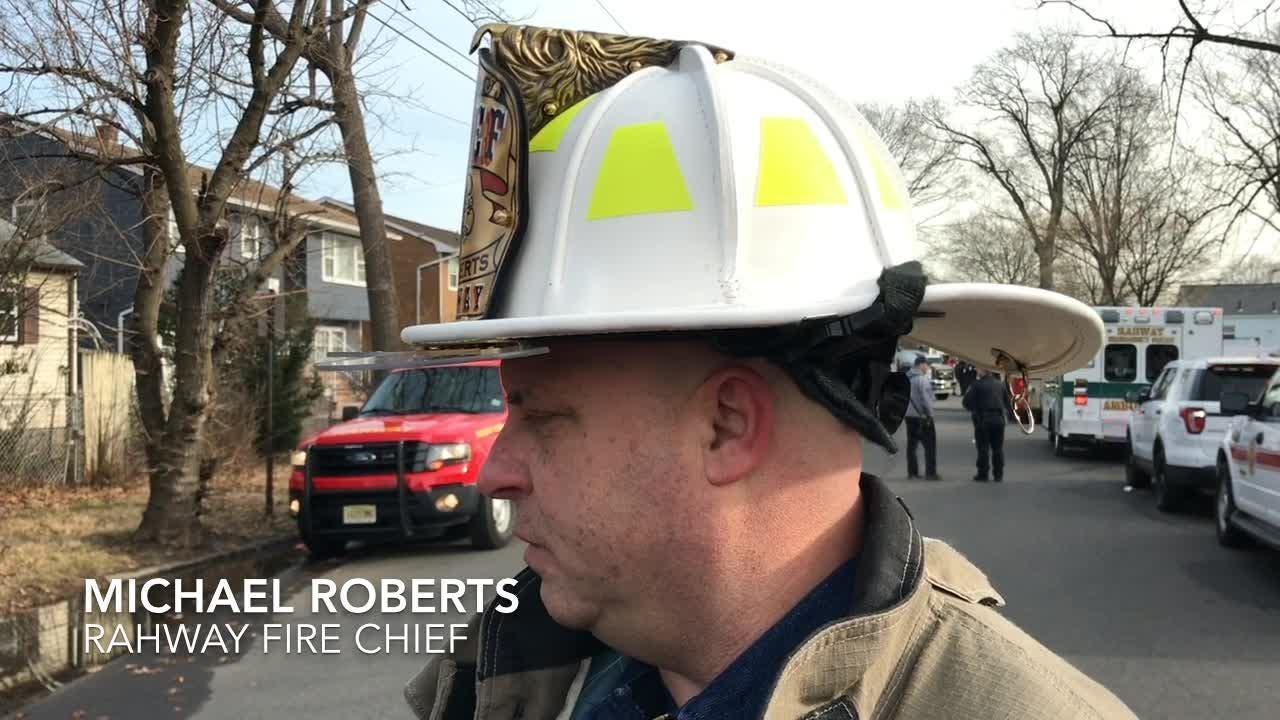 A woman in her 40s died on day after New Year's Day in her Rahway home. Three of her family members survived, authorities said.