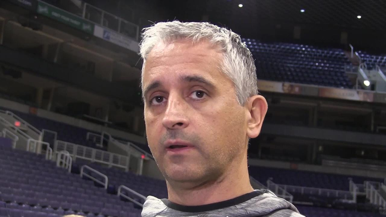 Phoenix Suns coach Igor Kokoskov talks about the play of rookie De'Anthony Melton since making second-round pick out of USC the starting point guard.