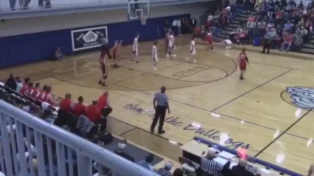 Video apparently shows Dora High swapping free throw shooters during game against Licking.