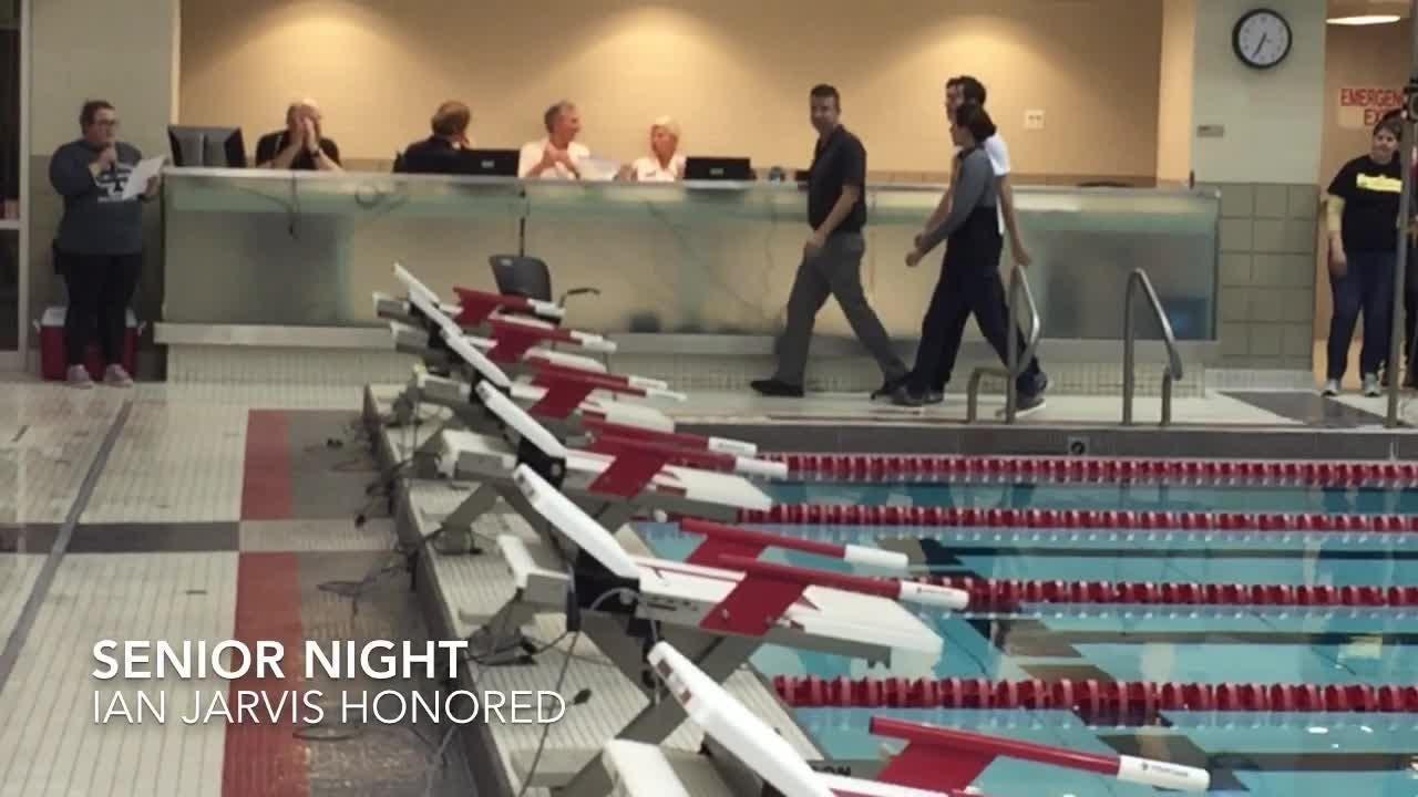 Watkins Memorial, Granville and Northridge competed in a triangular meet at Denison's Trumbull Aquatics Center