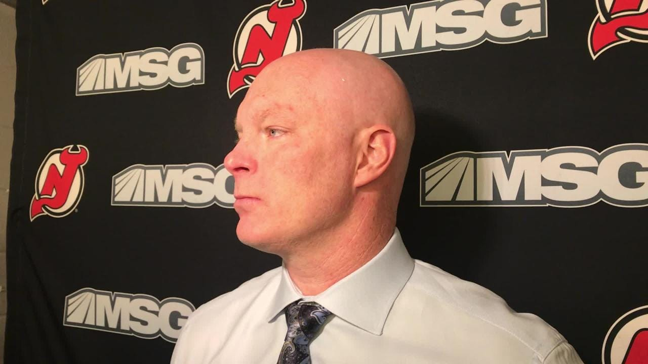 John Hynes talks about the Devils' efforts to get back into the game against the Stars.